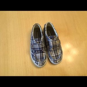 Plaid Sperry Top sider shoes